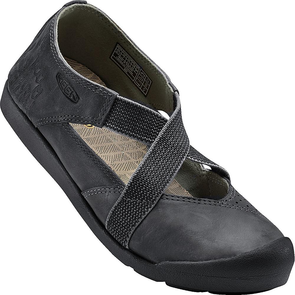 KEEN Womens Lower East Side MJ 8.5 - Grey/Black - KEEN Womens Footwear - Apparel & Footwear, Women's Footwear