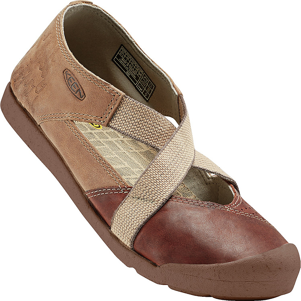 KEEN Womens Lower East Side MJ 9.5 - Red Brown/Powder - KEEN Womens Footwear - Apparel & Footwear, Women's Footwear