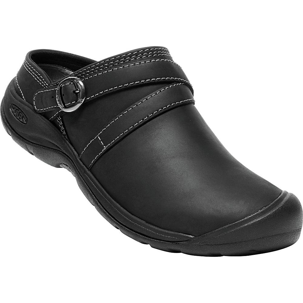 KEEN Womens Presidio II Mule 8 - Black/Steel Grey - KEEN Womens Footwear - Apparel & Footwear, Women's Footwear