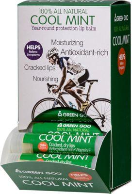 Green Goo Lip Balm Dispenser .15oz 24 Pack Cool Mint - Green Goo Travel Health & Beauty