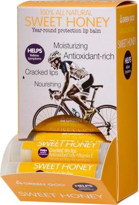 Green Goo Lip Balm Dispenser .15oz 24 Pack Sweet Honey - Green Goo Travel Health & Beauty