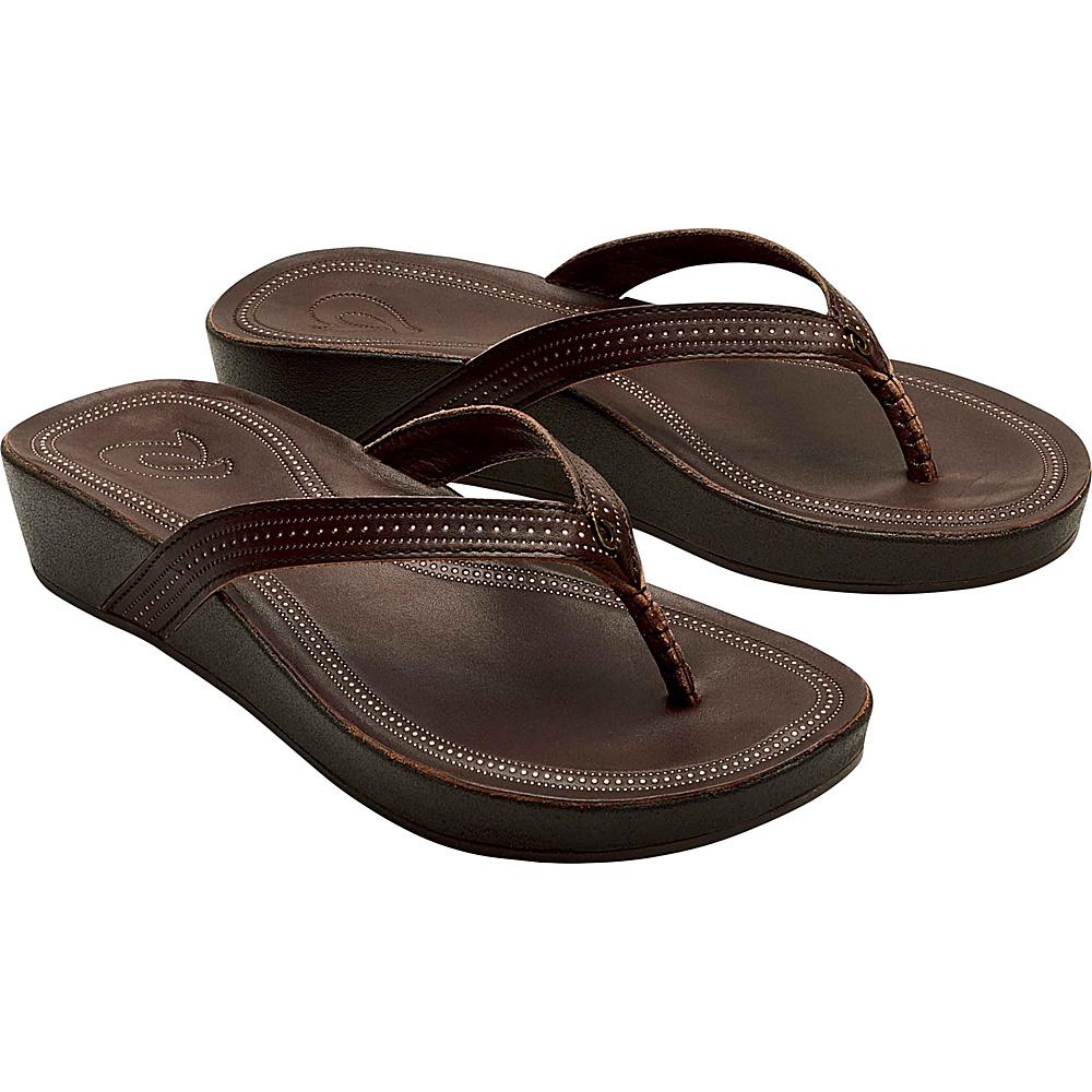 OluKai Womens Ola Sandal 8 - Dark Java/Dark Java - OluKai Womens Footwear - Apparel & Footwear, Women's Footwear