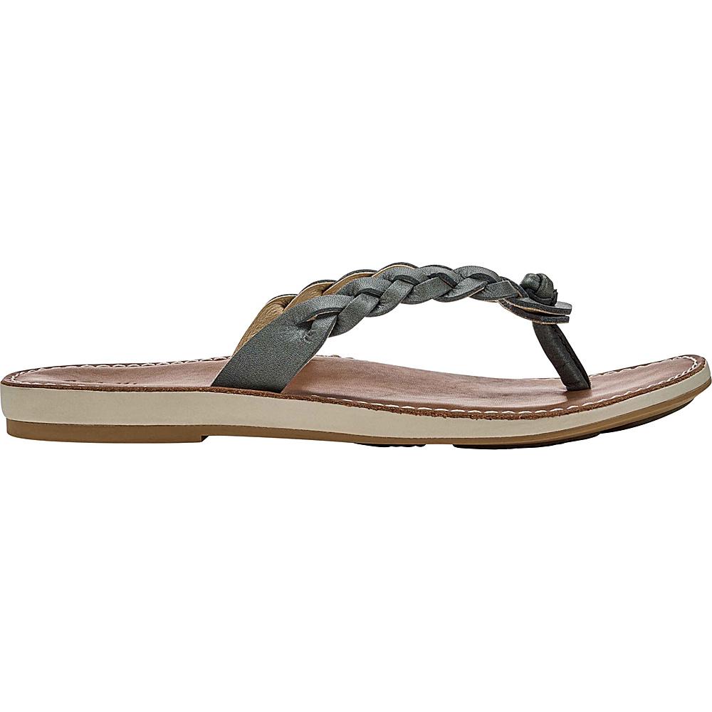 OluKai Womens Kahiko Sandal 8 - Slate/Tan - OluKai Womens Footwear - Apparel & Footwear, Women's Footwear