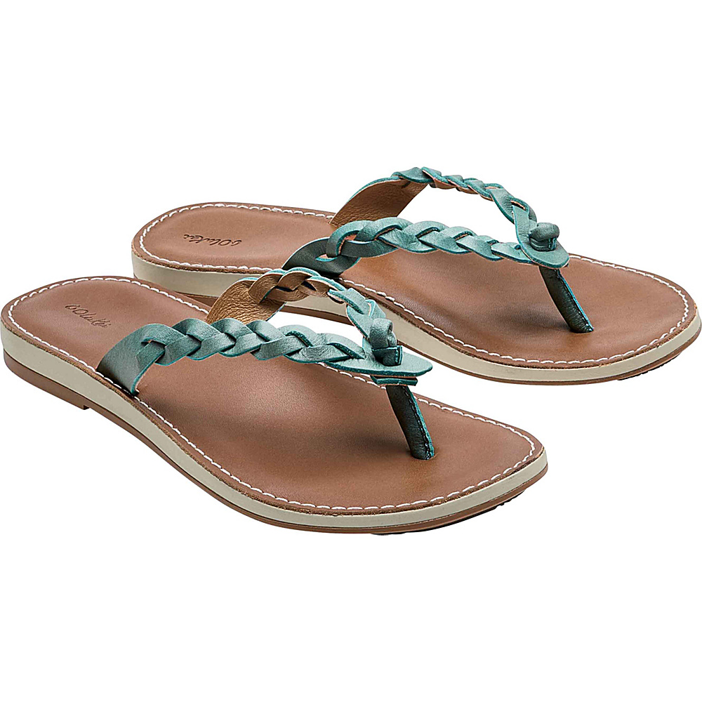 OluKai Womens Kahiko Sandal 11 - Sea/Tan - OluKai Womens Footwear - Apparel & Footwear, Women's Footwear