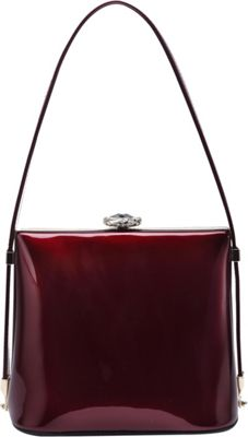 STYLE STRATEGY Rudy Shell Shoulder Bag Red - STYLE STRATEGY Fabric Handbags