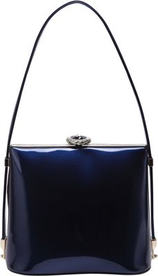 STYLE STRATEGY Rudy Shell Shoulder Bag Blue - STYLE STRATEGY Fabric Handbags