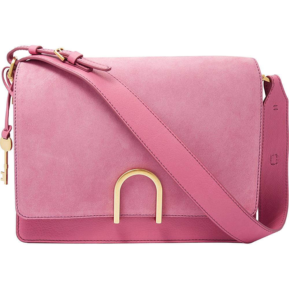 Fossil Finley Shoulder Bag Wild Rose - Fossil Leather Handbags - Handbags, Leather Handbags