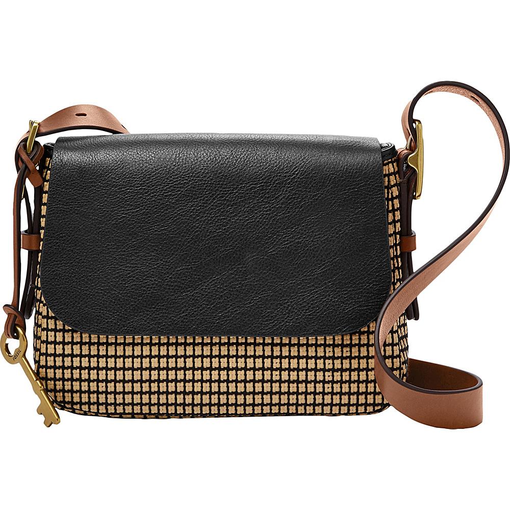 Fossil Harper Small Crossbody Neutral Multi - Fossil Fabric Handbags - Handbags, Fabric Handbags