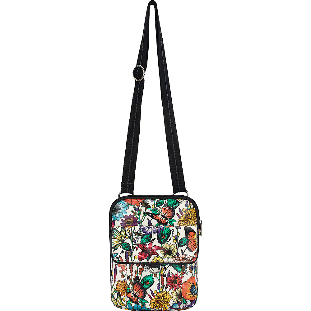 Sakroots Wynnie Small Flap Messenger Optic In Bloom - Sakroots Fabric Handbags - Handbags, Fabric Handbags