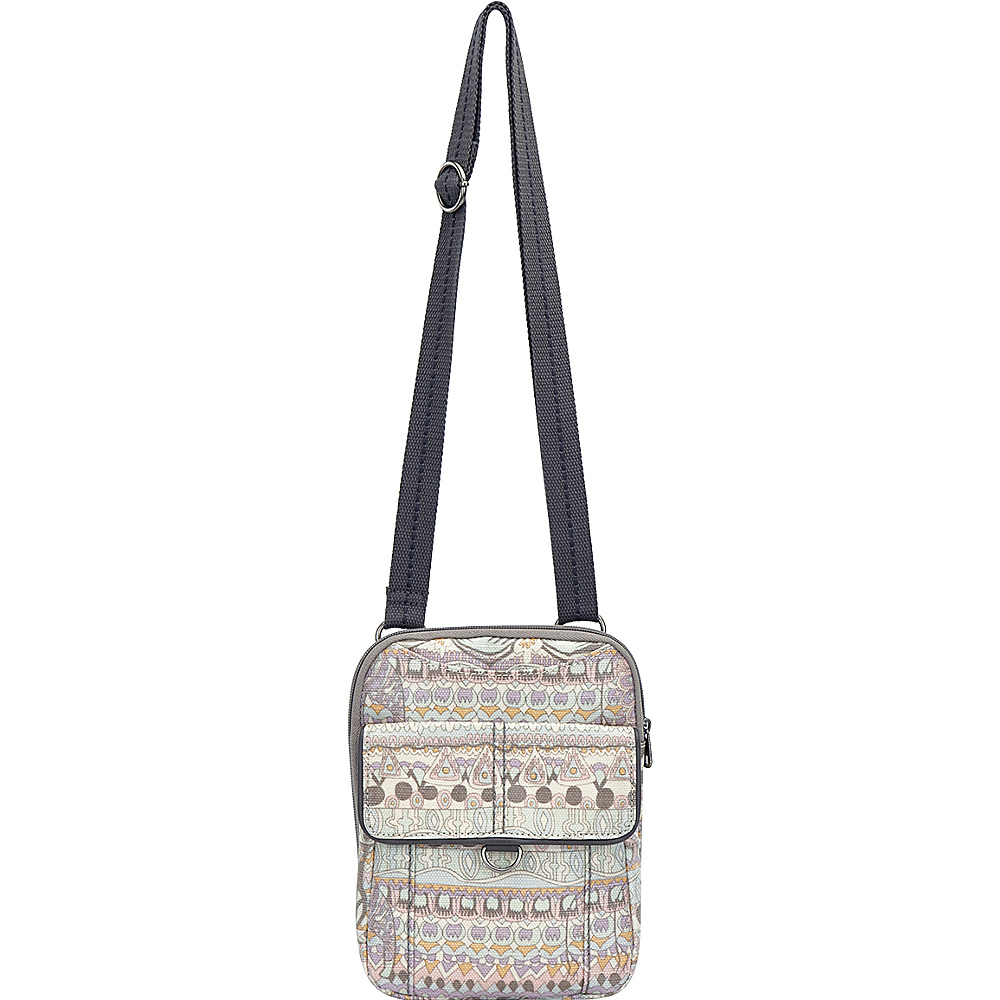 Sakroots Wynnie Small Flap Messenger Pastel One World - Sakroots Fabric Handbags - Handbags, Fabric Handbags
