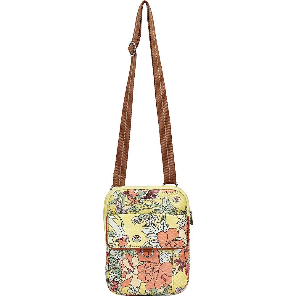 Sakroots Wynnie Small Flap Messenger Sunlight Flower Power - Sakroots Fabric Handbags - Handbags, Fabric Handbags