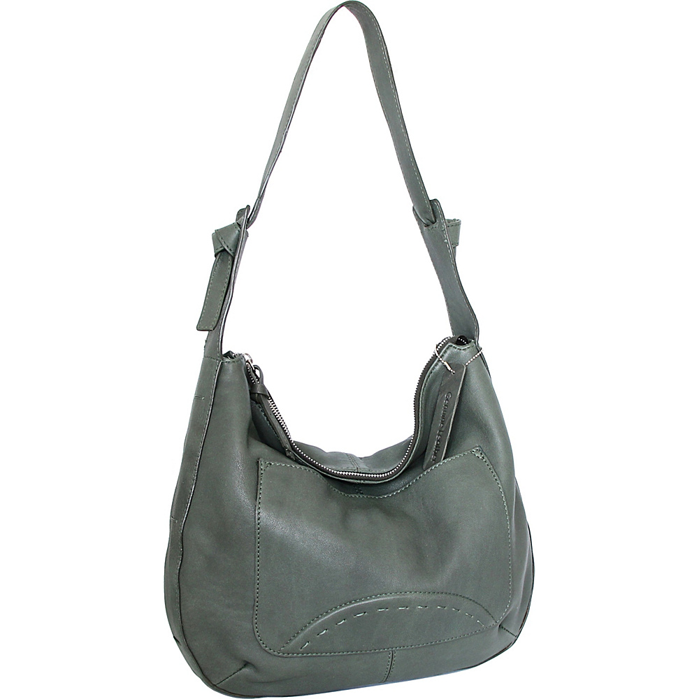 Nino Bossi Hayley Hobo Moss - Nino Bossi Leather Handbags - Handbags, Leather Handbags