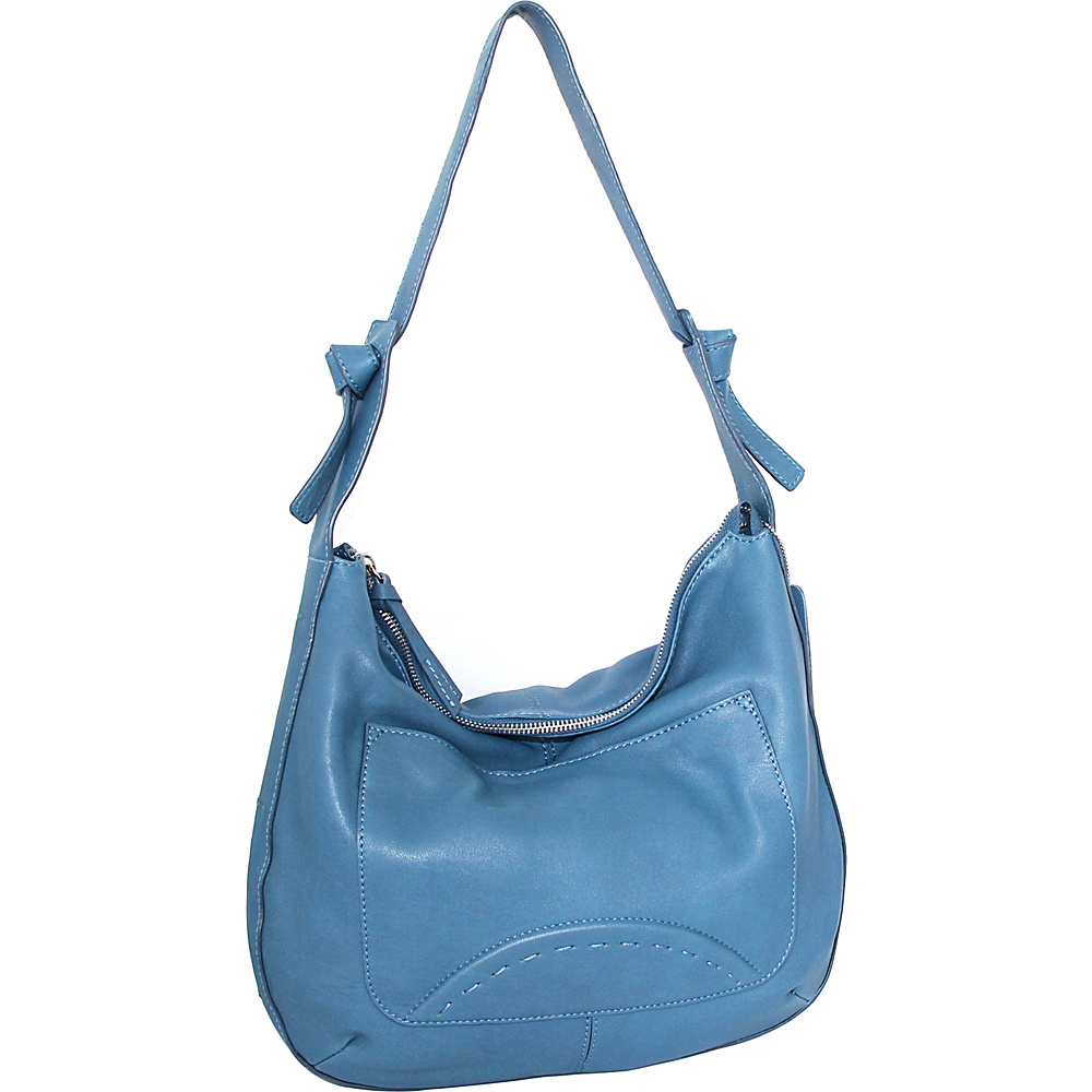 Nino Bossi Hayley Hobo Denim - Nino Bossi Leather Handbags - Handbags, Leather Handbags