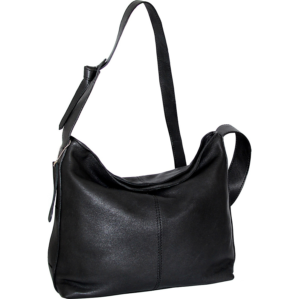 Nino Bossi Gwynn Shoulder Bag Black - Nino Bossi Leather Handbags - Handbags, Leather Handbags
