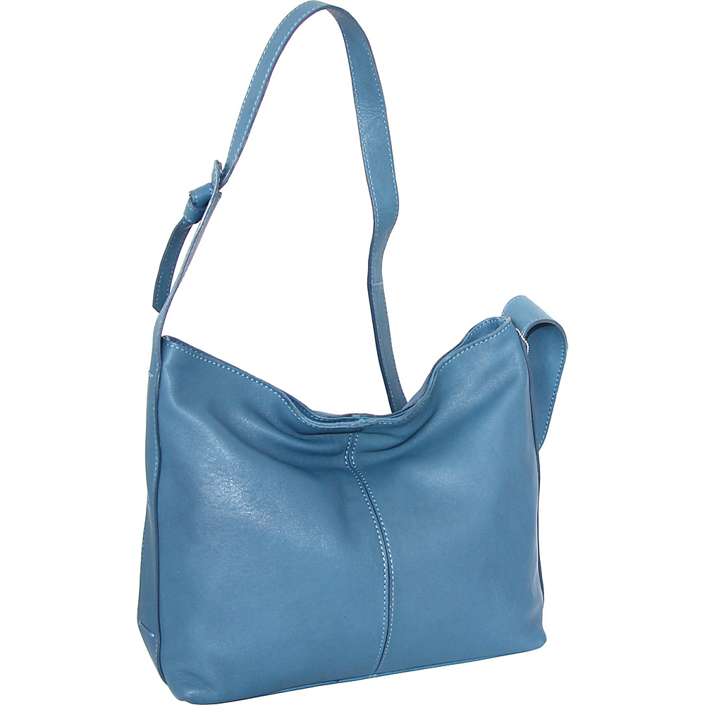 Nino Bossi Gwynn Shoulder Bag Denim - Nino Bossi Leather Handbags - Handbags, Leather Handbags