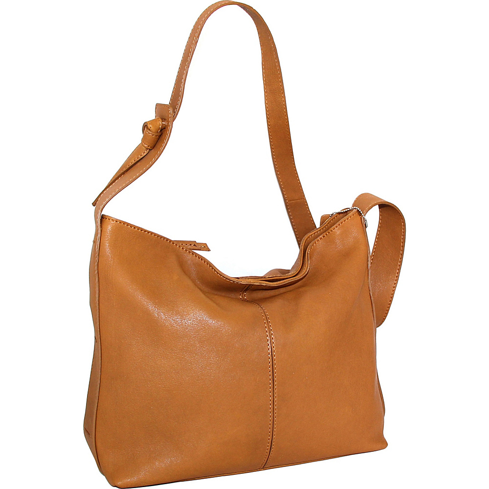 Nino Bossi Gwynn Shoulder Bag Cognac - Nino Bossi Leather Handbags - Handbags, Leather Handbags