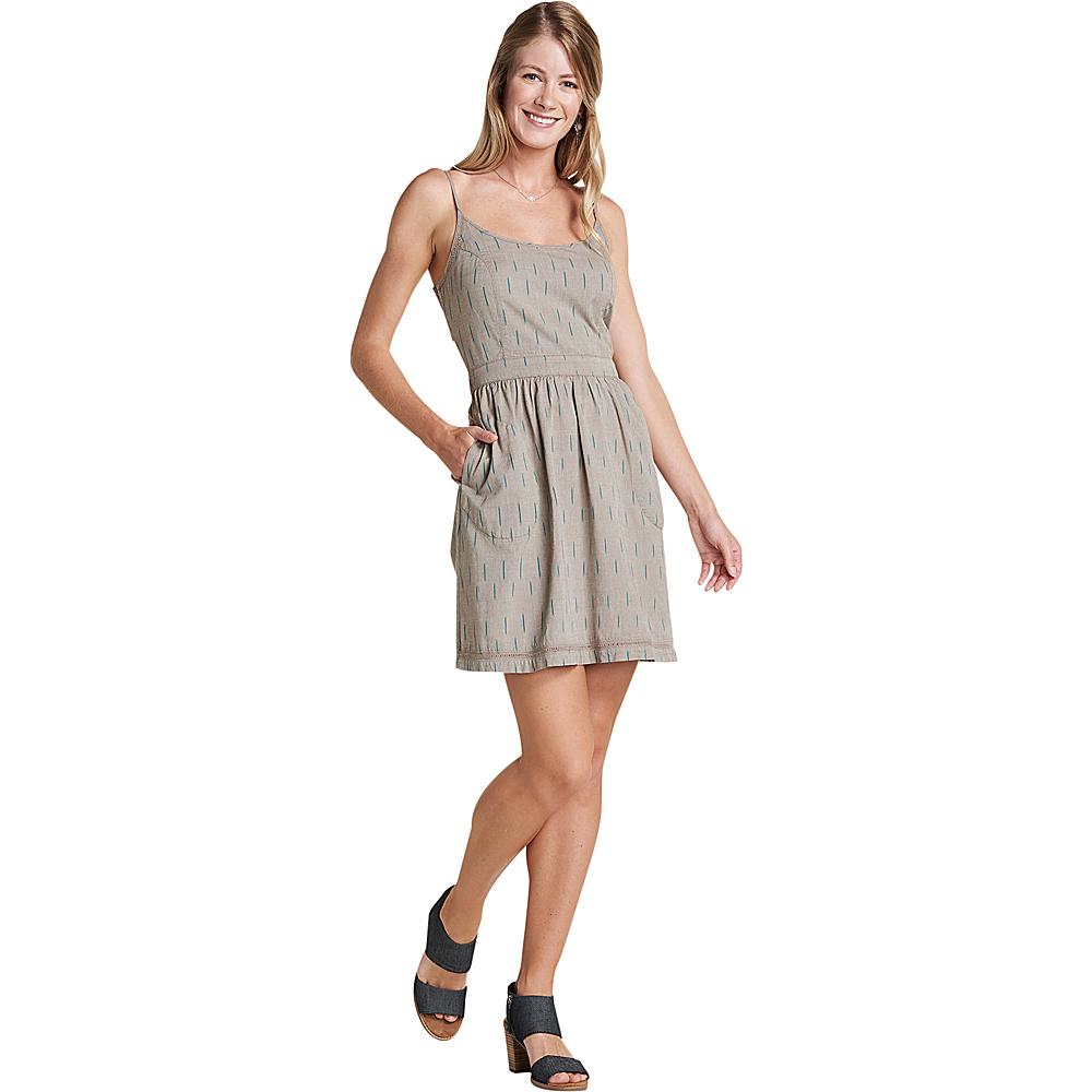 Toad & Co Womens Fresco Dress XS - Falcon Brown - Toad & Co Womens Apparel - Apparel & Footwear, Women's Apparel