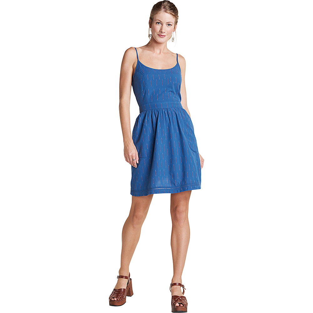 Toad & Co Womens Fresco Dress L - Blueberry - Toad & Co Womens Apparel - Apparel & Footwear, Women's Apparel