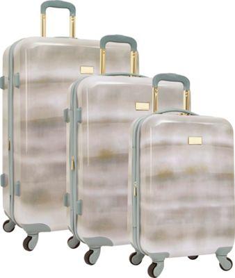 Vince Camuto Luggage Perii 3 Piece Expandable Hardside Spinner Luggage Set Chambray - Vince Camuto Luggage Luggage Sets