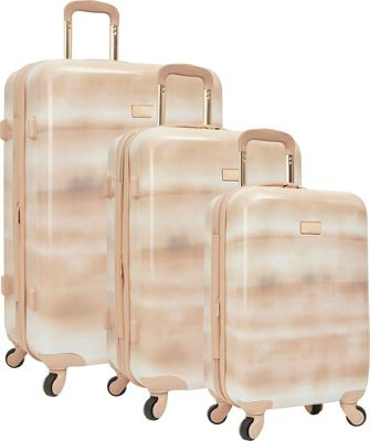 Vince Camuto Luggage Perii 3 Piece Expandable Hardside Spinner Luggage Set Rose - Vince Camuto Luggage Luggage Sets