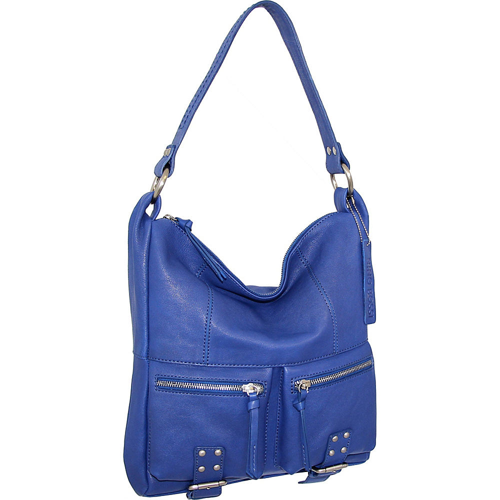 Nino Bossi Amelia Shoulder Bag Cobalt - Nino Bossi Leather Handbags - Handbags, Leather Handbags