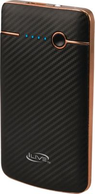 iLive 4,000mah Portable Charger with LED Flashlight Black - iLive Portable Batteries & Chargers