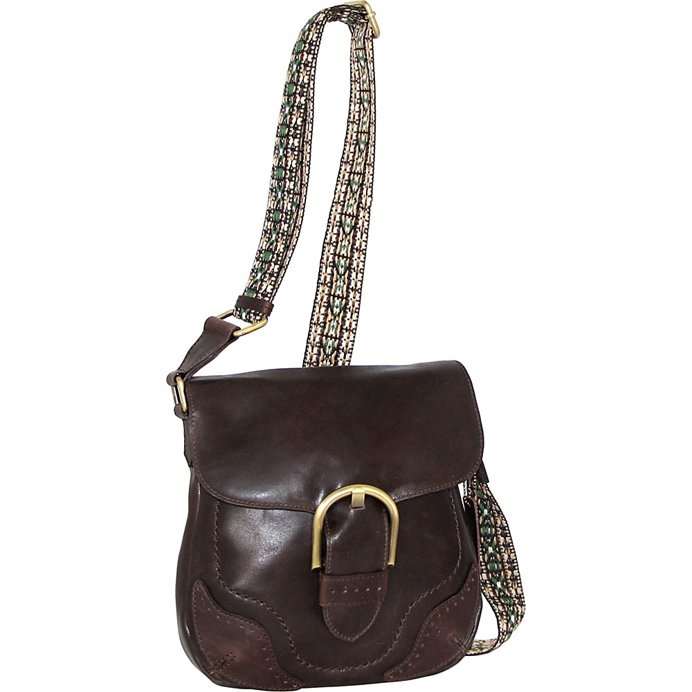 Nino Bossi Acacia Crossbody Brown - Nino Bossi Leather Handbags - Handbags, Leather Handbags