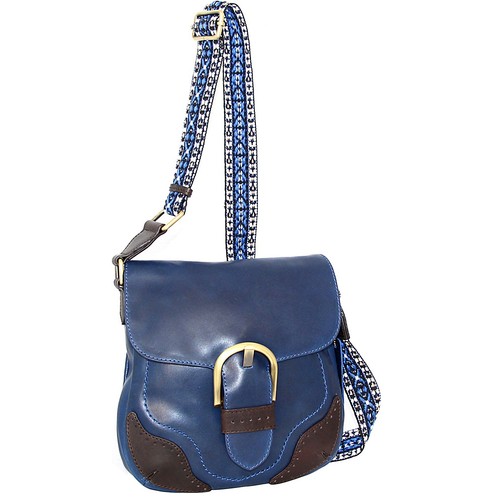 Nino Bossi Acacia Crossbody Denim - Nino Bossi Leather Handbags - Handbags, Leather Handbags