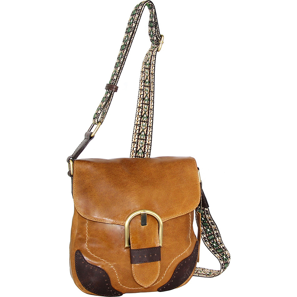 Nino Bossi Acacia Crossbody Saddle - Nino Bossi Leather Handbags - Handbags, Leather Handbags