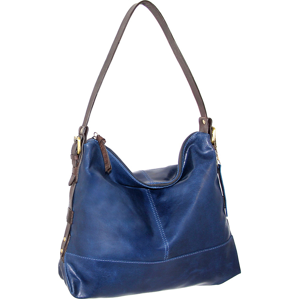 Nino Bossi Fatima Shoulder Bag Denim - Nino Bossi Leather Handbags - Handbags, Leather Handbags