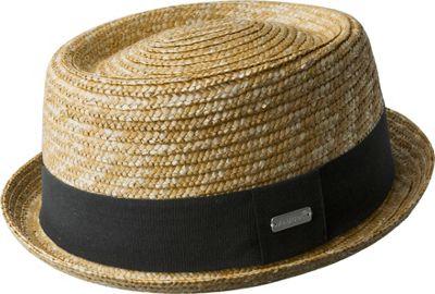 Wheat Braid Porkpie L - Natural - Kangol Hats/Gloves/Scarves