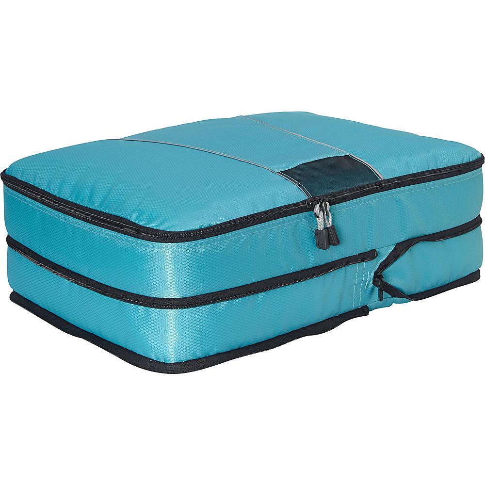 eBags Classic Large Compression Cube Aquamarine - eBags Travel Organizers