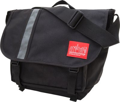 Manhattan Portage Dana's Messenger Bag - Medium Black/Grey - Manhattan Portage Messenger Bags