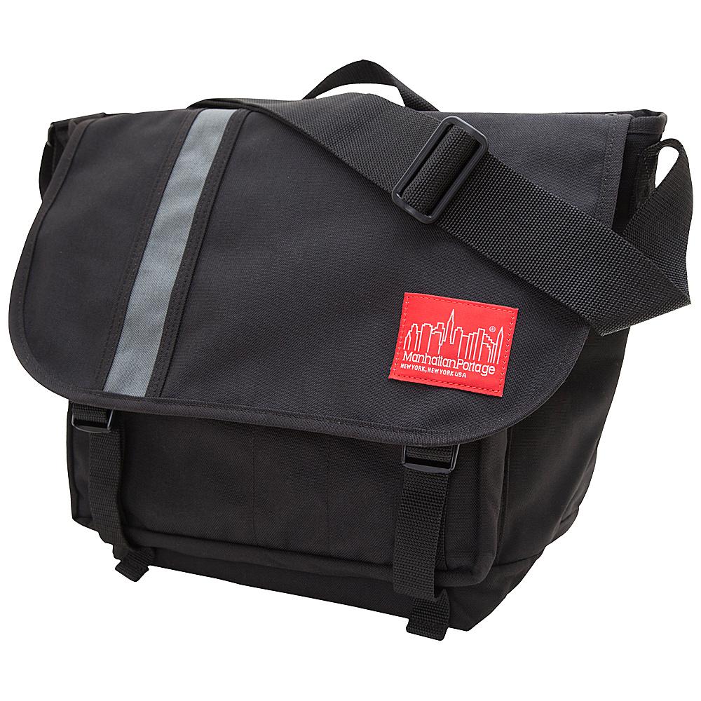 Manhattan Portage Danas Messenger Bag - Medium Black/Grey - Manhattan Portage Messenger Bags - Work Bags & Briefcases, Messenger Bags