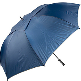WindPro Elite Vented Auto Golf Umbrella - Solid Colors Navy