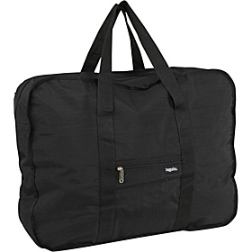 Bagg in a Pouch Large Crinkle Nylon Black
