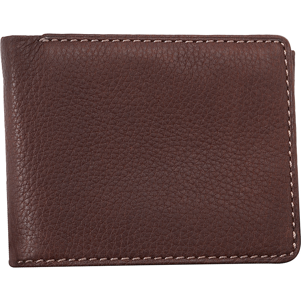 Buxton Metropolis Credit Card Billfold - Brown - Work Bags & Briefcases, Men's Wallets