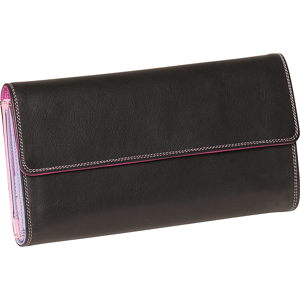 Derek Alexander Ladies 3-Part Checkbook Clutch - Women's SLG, Women's Wallets