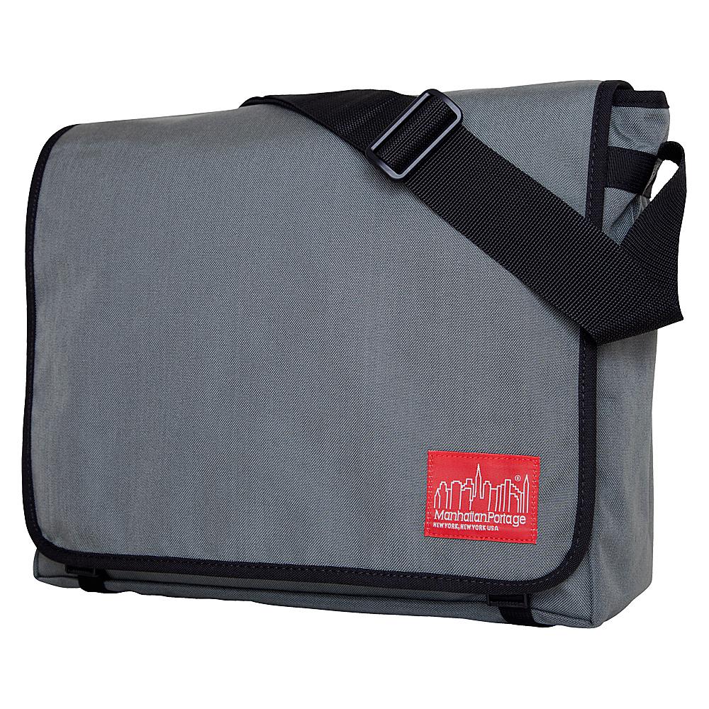 Manhattan Portage DJ Bag - Large Gray - Manhattan Portage Messenger Bags - Work Bags & Briefcases, Messenger Bags