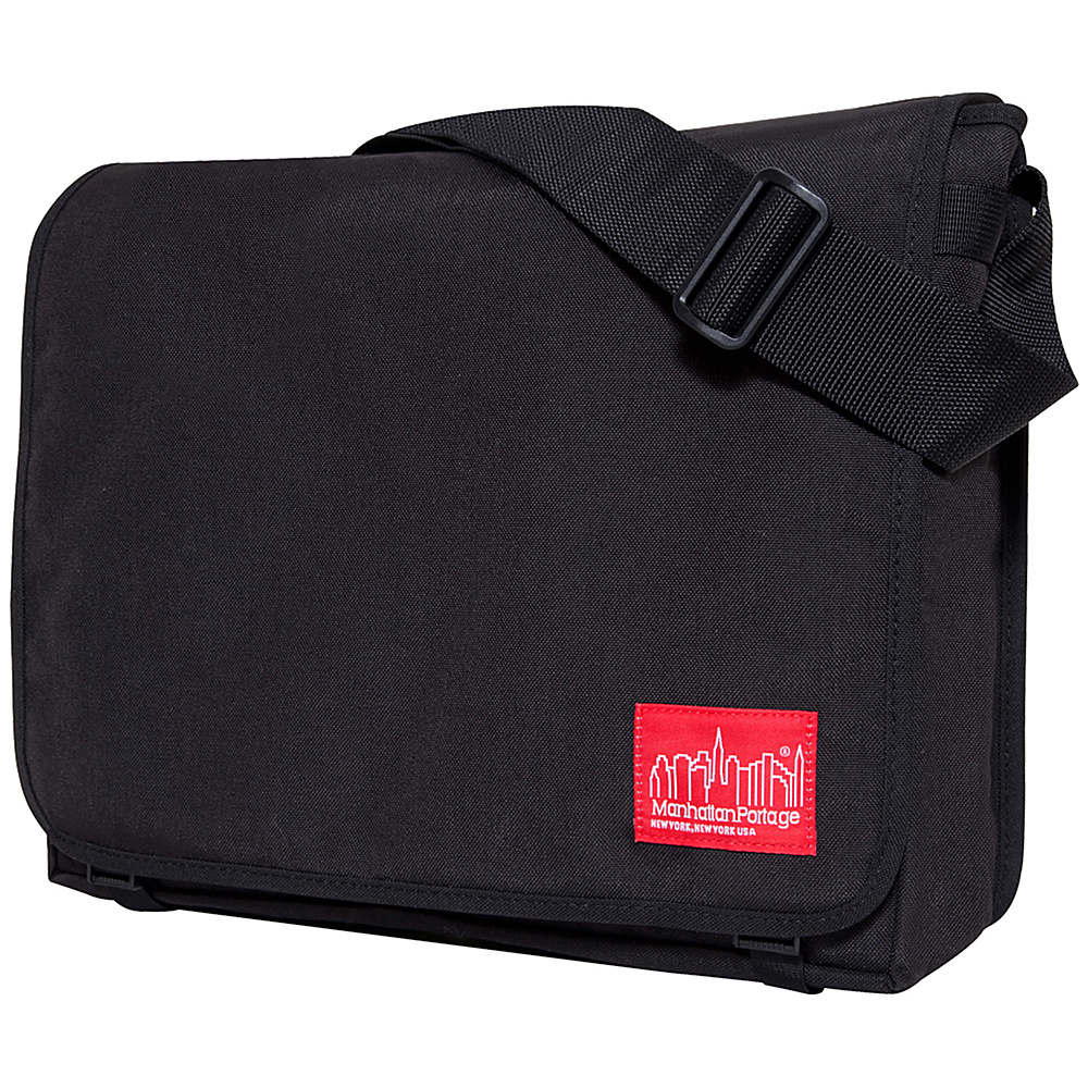 Manhattan Portage DJ Bag - Large Black - Manhattan Portage Messenger Bags - Work Bags & Briefcases, Messenger Bags