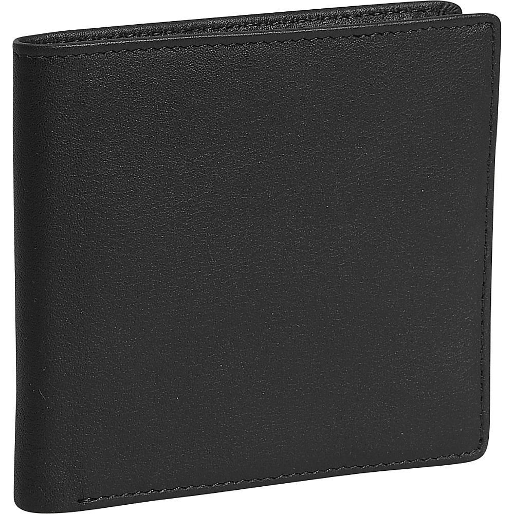Royce Leather Hipster Wallet - Black - Work Bags & Briefcases, Men's Wallets