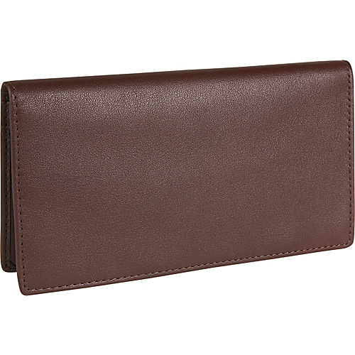 Royce Leather Checkbook & Secretary - Coco