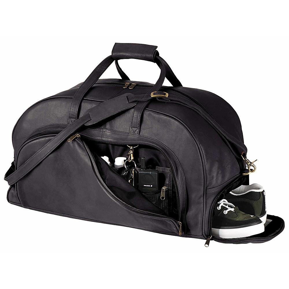 Royce Leather Organizer Duffel W/Shoe Compartment - Luggage, Rolling Duffels