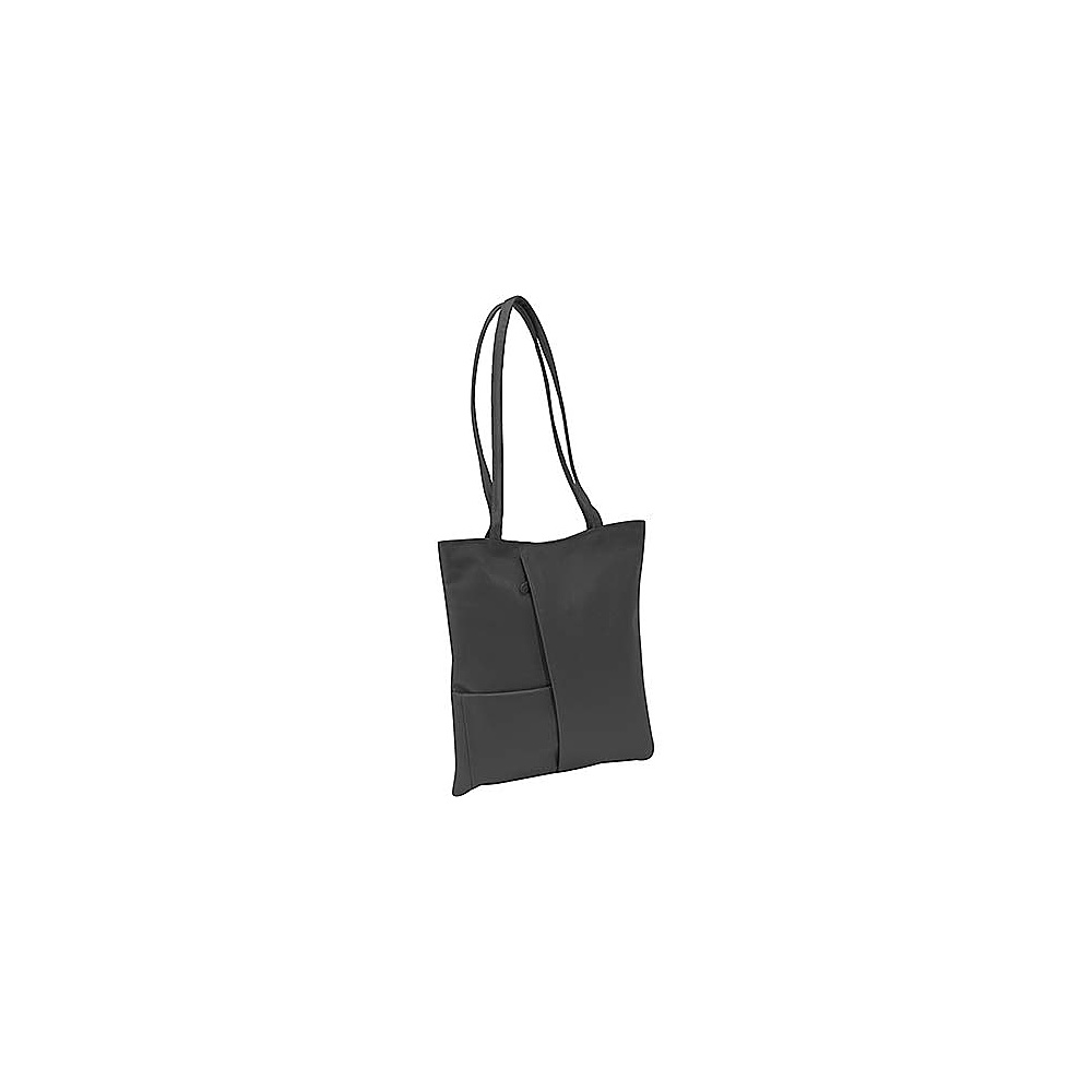 Derek Alexander Large North South Shopper/Tote - Black - Handbags, Leather Handbags