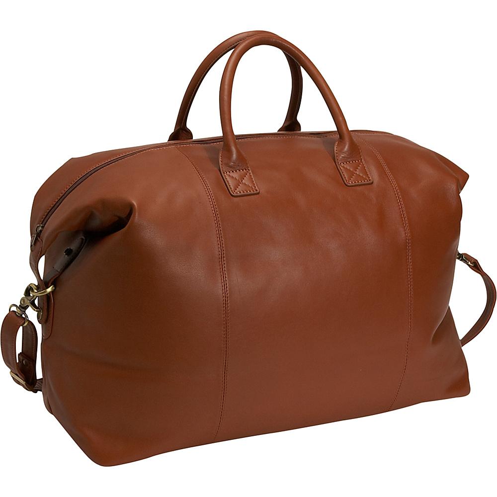 Royce Leather Euro Traveler - Tan - Duffels, Travel Duffels