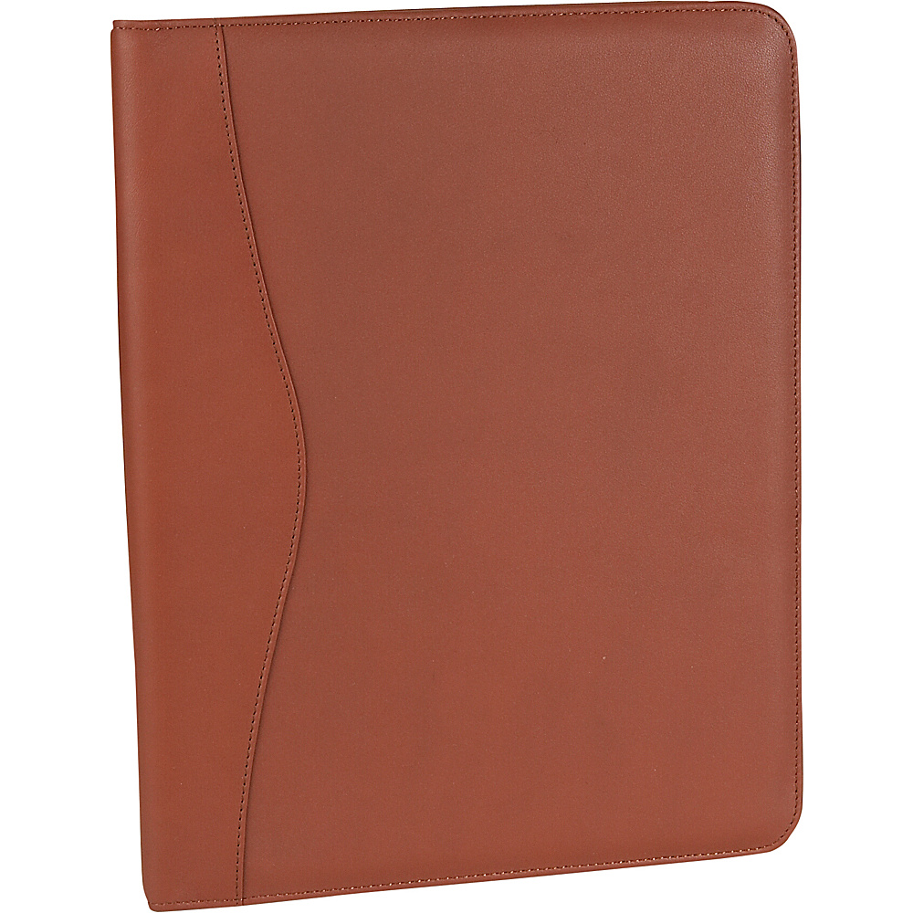 Royce Leather Deluxe Writing Padfolio - Tan - Work Bags & Briefcases, Business Accessories