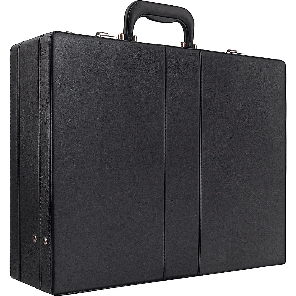 SOLO Expandable Attache - Black - Work Bags & Briefcases, Non-Wheeled Business Cases