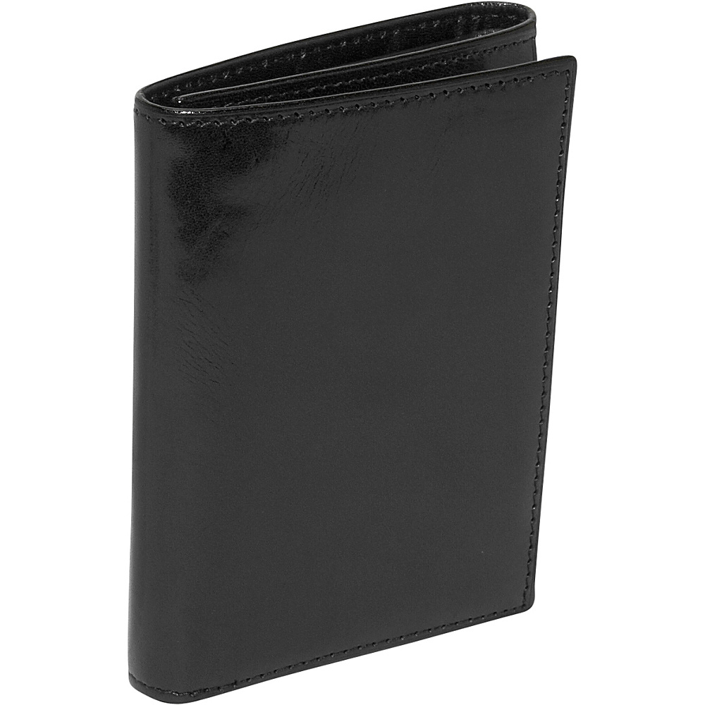 Bosca Old Leather Double ID Trifold Black