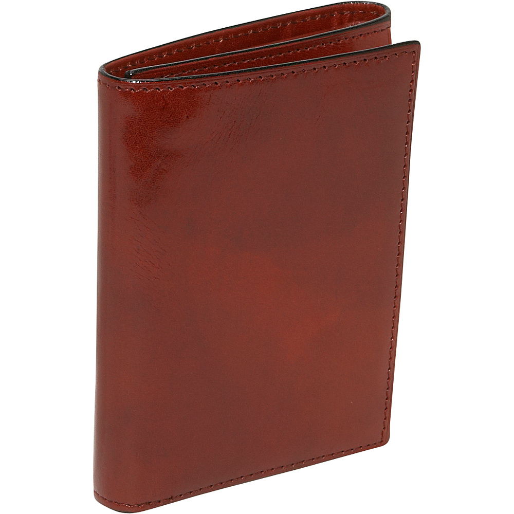 Bosca Old Leather Double ID Trifold Cognac