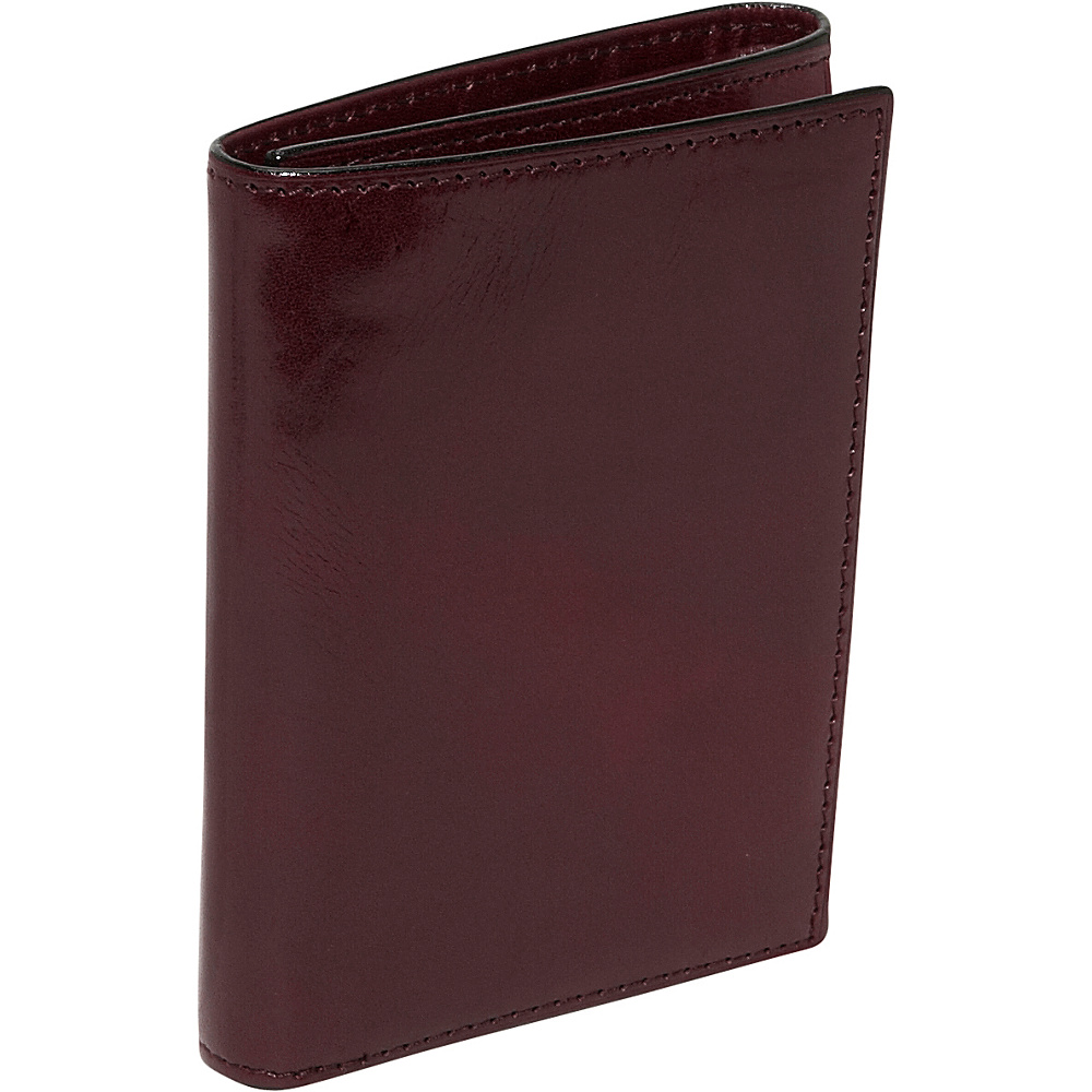Bosca Old Leather Double ID Trifold Dark Brown